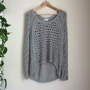 Helmut Lang Inherent Texture Open Knit Sweater EUC